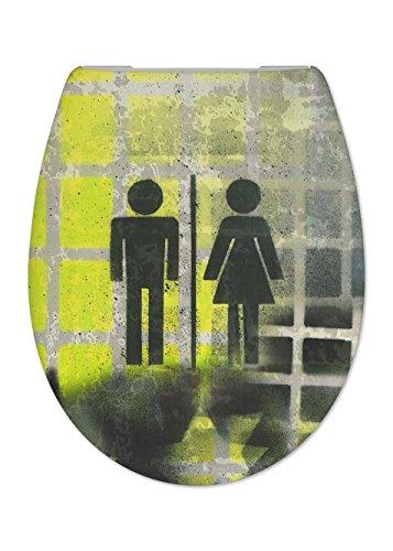 Cedo Design WC Sitz Jumper mit Absenkautomatik Softclose Classic®, abnehmbar mit Takeoff Original® Abnahmefunktion; aus Duroplast für ovale Keramiken mit Befestigung von unten