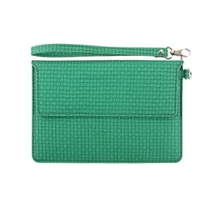 DooDa PU Leather Pouch Case Cover With Magnetic Closure & Video Viewing Stand For iPad 3