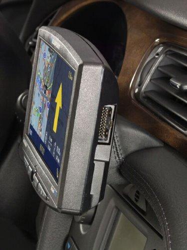 KUDA 297120 Halterung Echtleder schwarz für Jaguar S-Type ab 03/2002 bis 02/2008
