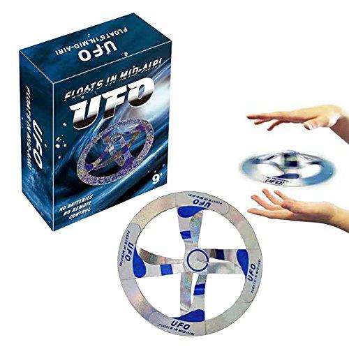 UFO schwimmende Scheibe Fliegende Untertasse Hover Prop kreative Zaubertrick Spielzeug für Kinder Kinder