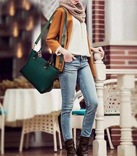 Damen Leder Handtaschen Große Taschen Aus Leder Handtaschen Handtaschen U-förmigen Schultertasche Diagonale Paket Handtasche A