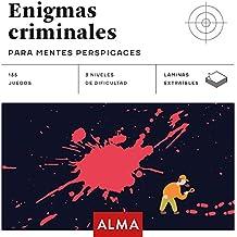Enigmas criminales para mentes perspicaces: 25 (Cuadrados de diversión)