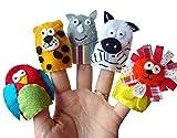 Animal finger Puppets - Jungle Animals