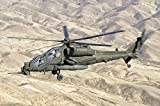 Giovanni Colla/Stocktrek Images - An Italian Army AW-129 Mangusta over Afghanistan. Photo Print (43,43 x 28,96 cm)