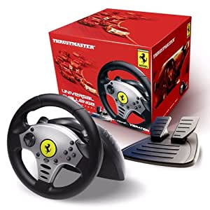 Thrustmaster Universal Challenge Racing Wheel (PlayStation®3, PlayStation®2,PC, GameCube® & Wii)