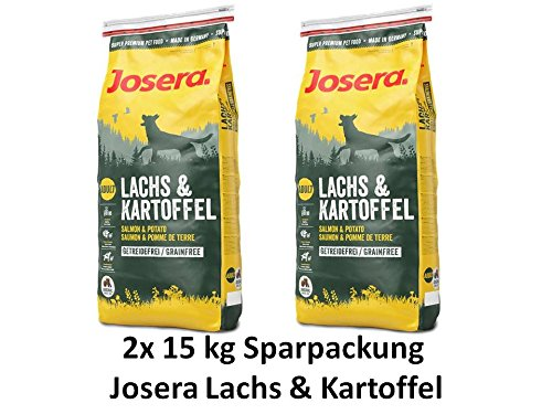 Josera Lachs & Kartoffel 2x15kg - Sparpaket