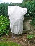 Gartenvlies 110x150cm Pflanzenschutzsack Wintervlies Kälteschutz Pflanzen Bäume Sträucher