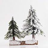 Ry-Christmas tree Décorations Arbres de Noël Simulation d'arbres de cèdre Sapin de Noël 26cm Augmenter l'atmosphère de fête