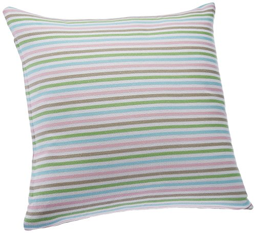 Blue Alcove Multi Dobby Stripes Cushion Cover - Multicolor (SGCC-40)