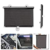 Car Window Sun Shade Covers Front windshield Sunshades for Baby Roller Blind Retractable