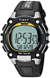 Timex Ironman da uomo 100 Lap Flix, Uomo, Black / Yellow Highlights