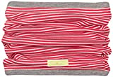 loud + proud Wende-schlauchschal aus Bio Baumwolle, GOTS Zertifiziert Sciarpa, Rosso (Tomato To), Unica (Taglia Produttore: OS) Unisex-Bimbi
