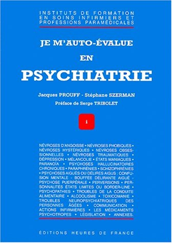 Je m'auto-value en psychiatrie