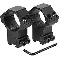 KINSUNG 25,4mm mira telescópica anillos,Enganche para rail de 11mm de anchura
