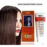 Permanent Hair Straightening Cream Brazilian Keratin Treatment Professional Hair Relaxer Cream Natural Hair