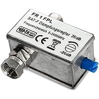 Transmedia FR1FPL Satelliten Dämpfungsregler Dämpfungsteller F-Anschluss