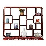 XINGZHE Bodenregal, Holz Retro Wohnzimmer Schlafzimmer Multi-Frame-Display Bodenregal, 2 Stile zur Verfügung Eckablage (Color : B)