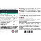 Bloqueur de Glucides & de Graisses Efficace - Complément Minceur 100% Naturel à base de Haricot Blanc, Cidre de Pomme, Racine de Pissenlit et Thé Vert - 60 Gélules - 1 Mois d'Utilisation - Carb No More de Maxmedix