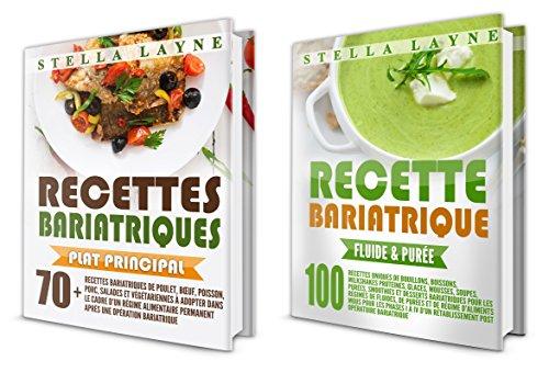 Couverture du livre Bypass Gastrique: 2 Manuscrits - 170+ recettes pour les phases I à IV de récupération après une chirurgie bariatrique – et pour le reste de votre vie