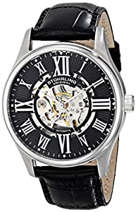 Stührling Original - Reloj de cuarzo para hombres, negro de Stuhrling Original