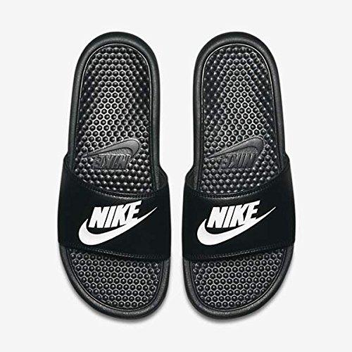 Nike mens benassi jdi sandals sport black 343880 090 pool shoes, numero di scarpe:eur 40
