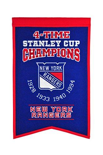 Winning Streak NHL New York Rangers Stanley Cup Champions Banner