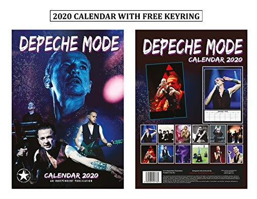 Depeche Mode Kalender 2020 + Depeche Mode Schlüsselanhänger