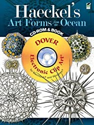 Haeckel's Art Forms from the Ocean CD-ROM and Book (Dover Electronic Clip Art) by Ernst Haeckel (2011-03-17)