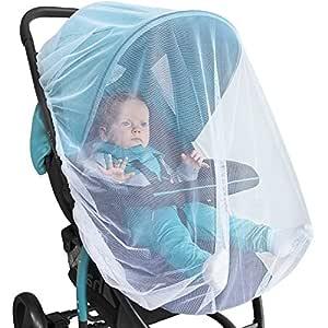Baby Moskitonetz Für Kinderwagen Autositz Stubenwagen Premium Insektenschutz Für Buggy Babyschale Kinderbett Mit Hochwertiger Geschenkverpackung Baby