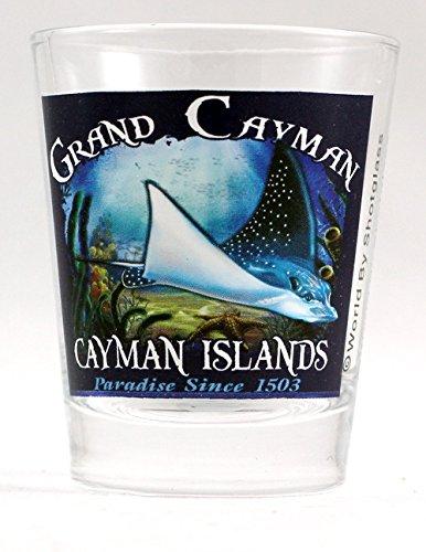 Grand Cayman Cayman Islands Stachelrochen Shot Glas -