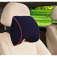 Ufficio auto applicabile per quattro stagioni memoria poggiatesta cuscino supporto collo , blue