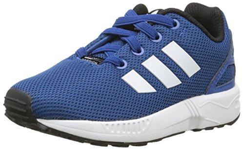adidas Zx Flux, Chaussures Marche Mixte Bébé, Bleu, 22 EU Bleu (Eqt Blue S16/Ftwr White/Core Black)