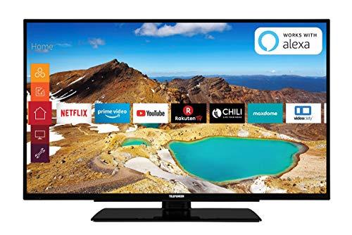 Telefunken XU55G521 140 cm (55 Zoll) Fernseher (4K Ultra HD, Triple Tuner, Smart TV, HDR10, Prime Video) (Der 55-zoll-smart-led-tv)