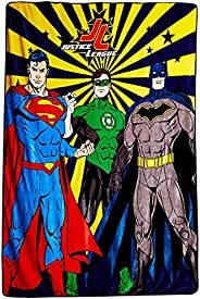 Warner Bros Justice League Kids light weight Blanket 1KG Flannel Blankets 160*220 cm