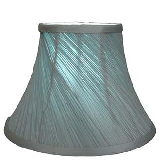 Sophie Lampe style shabby chic bleu canard 20,3cm