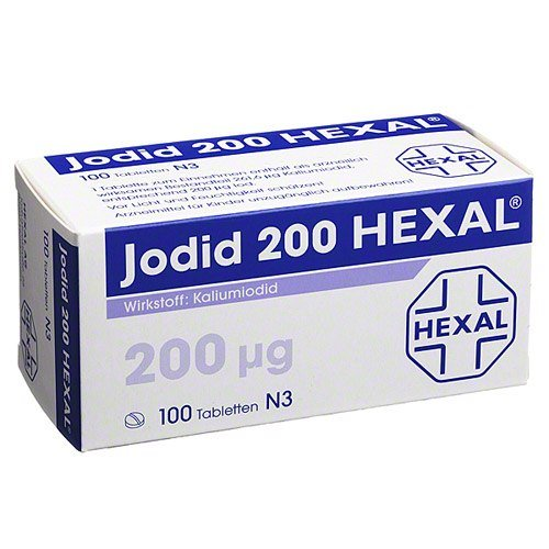 Jodid 200 Hexal Tabletten, 100 St.