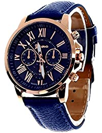 Cloudwood Geneva Chronograph Analogue Blue Dial Men's Watch - W-06