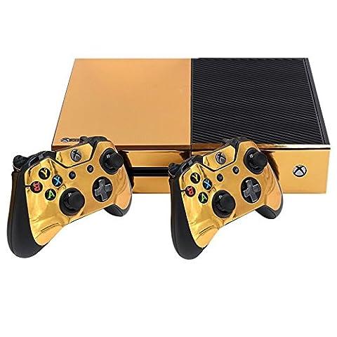 Stillshine Xbox ONE Design Folie Aufkleber für Konsole + 2 Controller + Kamera Sticker Skin Set (Glossy (Einfache Ir Hub)