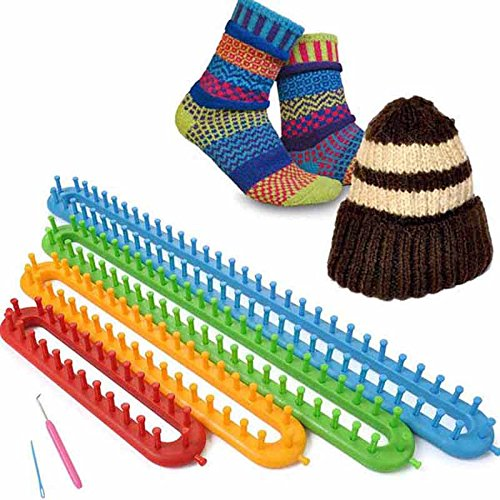 Vetrineinrete Set 4 telai rettangolari per la lavorazione della lana maglia telaio maglieria varie misure B4