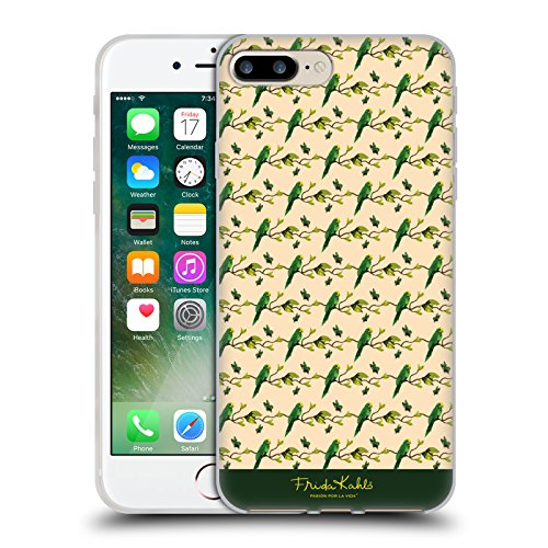 Offizielle Frida Kahlo Monkey Tropisch Soft Gel Hülle für Apple iPhone 5 / 5s / SE Kraut