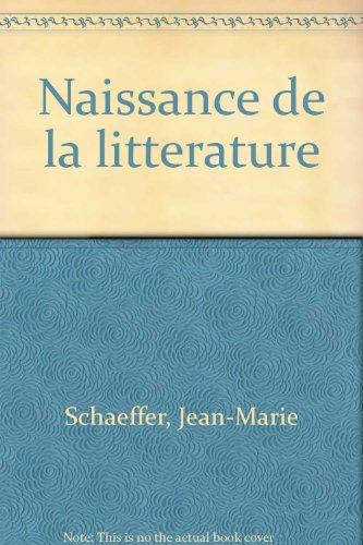 La Naissance de la littérature : La Théorie esthétique du romantisme allemand