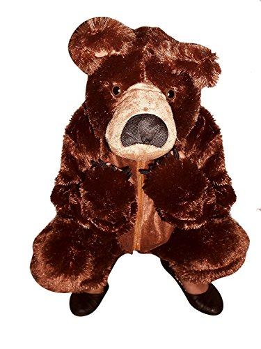 (Seruna Braunbär-Kostüm, F67/00 Gr. 110-116, für Kinder, Bären-Kostüme für Fasching Karneval Fasnacht, Kleinkinder-Karnevalskostüme, Kinder-Faschingskostüme, Geburtstags-Geschenk Weihnachts-Geschenk)