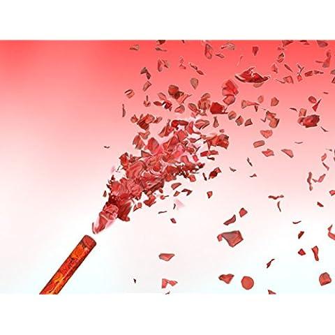 Petali di rosa Pioggia rosa rosso Mini