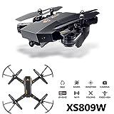 Cewaal FPV Drohne mit 1080P Kamera Live Video, faltbarer Arm Höhe halten Headless Drone für Kinder & Anfänger