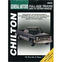 GM Full-Size Trucks, 1980-87 (Chilton's Total Car Care Repair Manuals)