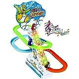 SAISAN Kid's Funny Penguin Race Toy (Multicolour)