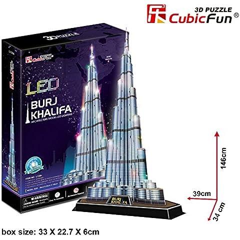 3D Puzzle Burj Khalifa LED Dubai Cubic
