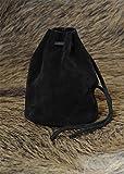 Bolsa de piel, tamaño grande, color negro
