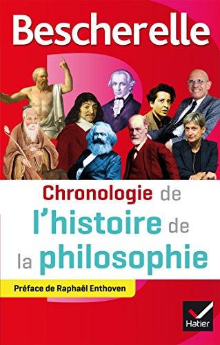 Bescherelle Chronologie de l'histoire de la philosophie : de la philosophie orientale au XXIe siècle (Chronologies)