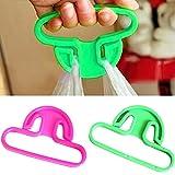 Grocery bag Holder Handle Carrier Helper shopping manico per borse della spesa borsetta borsa passeggino accessori